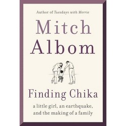 Finding Chika - by Mitch Albom (Hardcover)