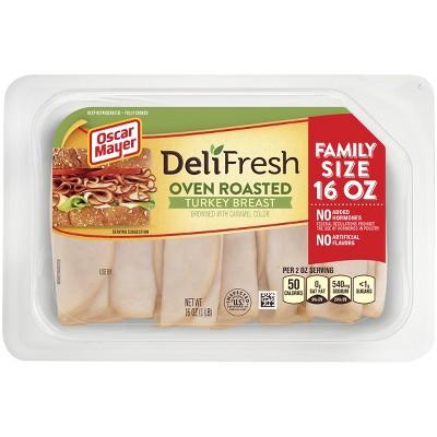 Oscar Mayer Deli Fresh Shaved Oven Roasted Turkey Breast -16oz