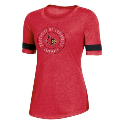 NCAA Louisville Cardinals Women's Short Sleeve Crew Neck T-Shirt - image 1 of 2