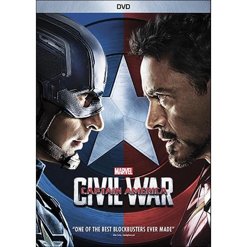 Marvel's Captain America: Civil War (DVD) - image 1 of 1
