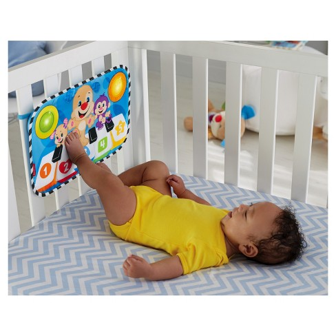 Fisher Price Laugh Learn Puppy Kick Play Crib Piano Target