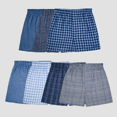 Fruit of the Loom® Boys' 7pk Plaid Boxers- Colors Vary