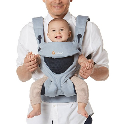 Ergobaby 360 Cool Air Mesh Baby Carrier - Chambray - image 1 of 4