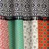 Geometric Boho Patch Shower Curtain - Lush Dcor - image 2 of 4