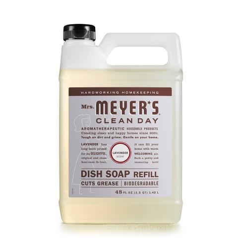 Mrs. Meyer's Lavender Liquid Dish Refill - 48 fl oz - image 1 of 1