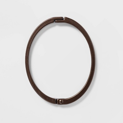Rust Proof Oval Shower Ring Bronze - Threshold™