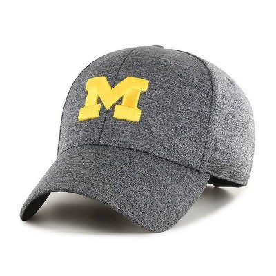 NCAA Michigan Wolverines Men's Gray Structured with Mesh Hat