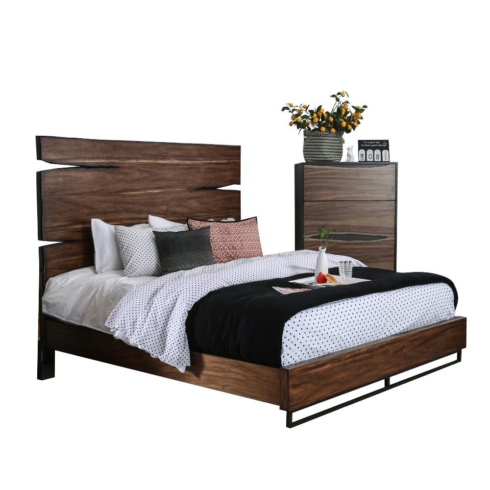 Adult Bed Oak Brown - Sun & Pine