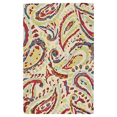 2'x3' Paisley Tufted Accent Rugs Eclipse - Weave & Wander