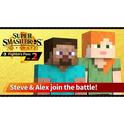 Super Smash Bros. Ultimate: Challenger Pack Steve & Alex - Nintendo Switch (Digital)