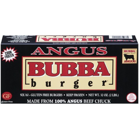 Bubba Burger Angus Beef Chuck Patties - Frozen - 2lbs/6ct - image 1 of 4