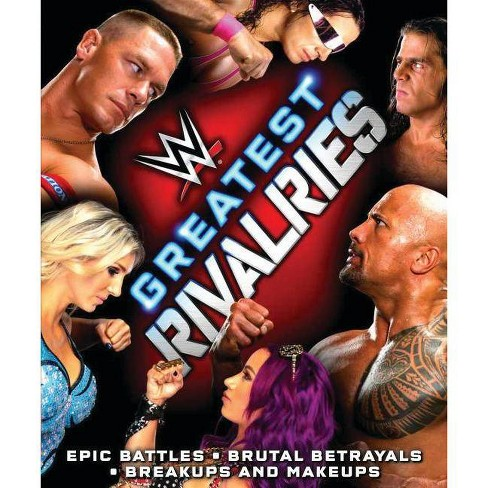 Wwe Greatest Rivalries - by  Jake Black (Hardcover) - image 1 of 1