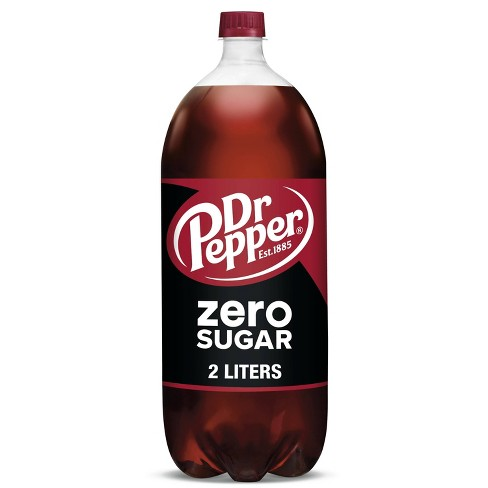 Dr Pepper Zero Sugar - 2L Bottle - image 1 of 4