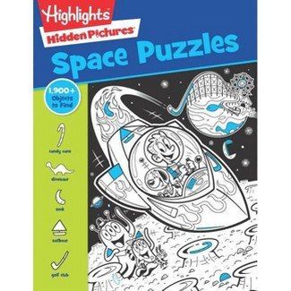 Space Puzzles - (Highlights(tm) Hidden Pictures(r)) (Paperback) : Target