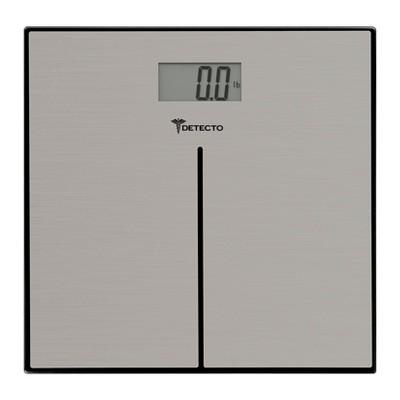 Clear Glass Digital Bathroom Scale Clear - Detecto