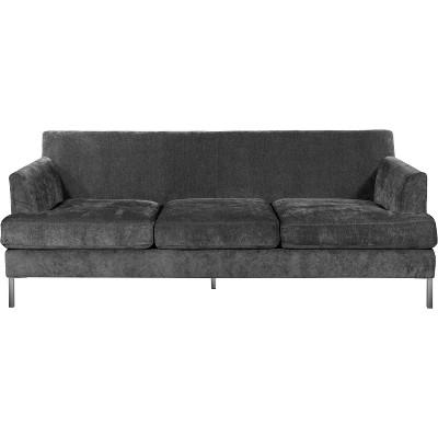 Lafayette Sofa Gray Velvet - Finch