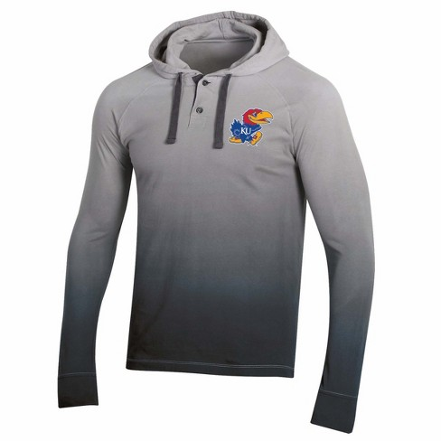 NCAA Men's Long Sleeve Lightweight Hoodie Kansas Jayhawks - image 1 of 2