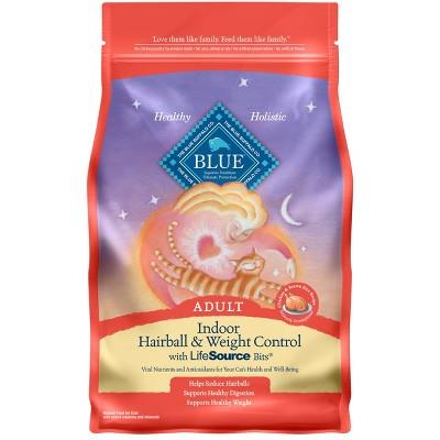Cat Food: Blue Buffalo Indoor Hairball & Weight Control