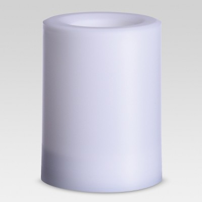 Outdoor LED Flameless Candle - 3 x4  - White - Project 62™