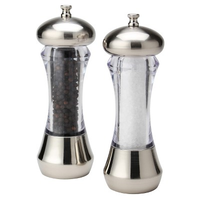 Olde Thompson® Sienna 2pc Mess Free Salt and Pepper Mill Set