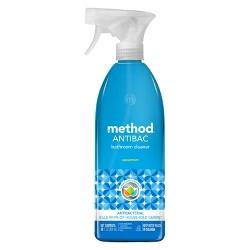 Method Antibacterial Bathroom Cleaner - Spearmint Spray Bottle - 28 fl oz
