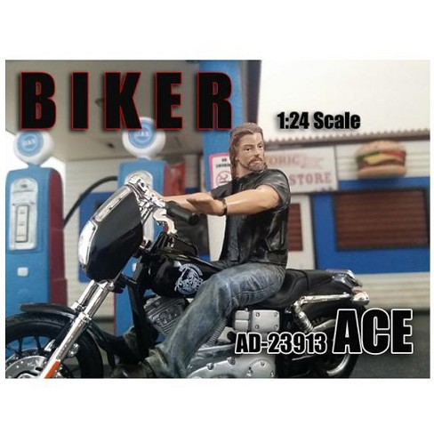 Biker Ace Figure for 1/24 Scale Models by American Diorama