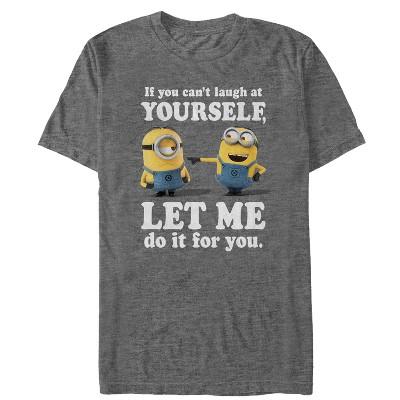 Men's Despicable Me Minion Laugh At You T-Shirt