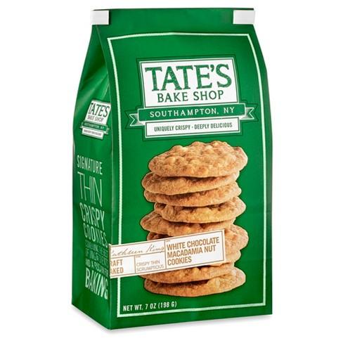 Tate's Bake Shop White Chocolate Macadamia But Cookies - 7oz - image 1 of 1