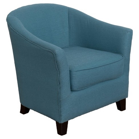 Shirley Contemporary Tub Chair - Linen - Corliving - image 1 of 4