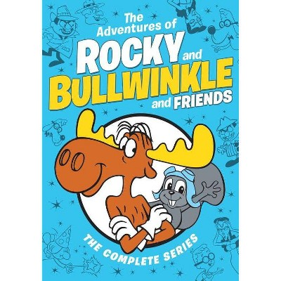 Rocky & Bullwinkle & Friends: The Complete Series (DVD)(2019)