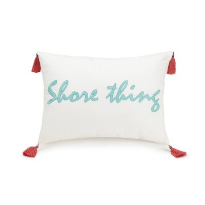 "12""x16"" Go Fish Decorative Throw Pillow - Vera Bradley"