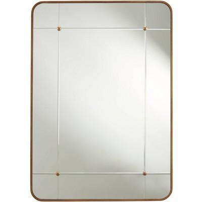 "Handel Antique Gold 27"" x 38"" Rectangular Framed Wall Mirror"