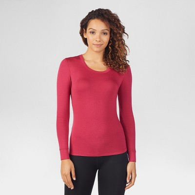 66102a6a417302 Warm Essentials® by Cuddl Duds® Women s Smooth Stretch Thermal Scoop Neck