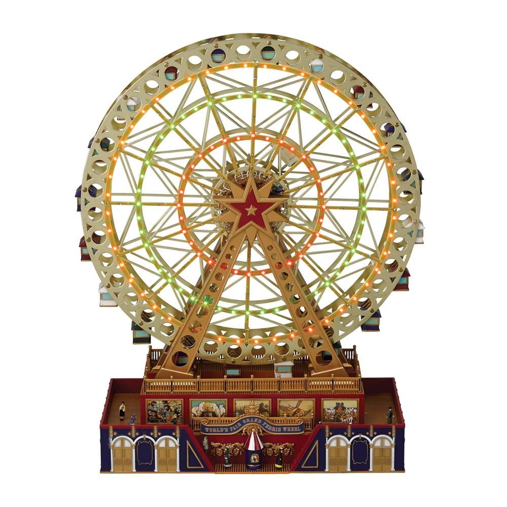 Image of World's Fair Grand Ferris Wheel Decorative Figurine - Mr. Christmas