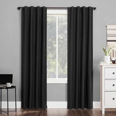 Cyrus Thermal Total Blackout Back Tab Curtain Panel - Sun Zero