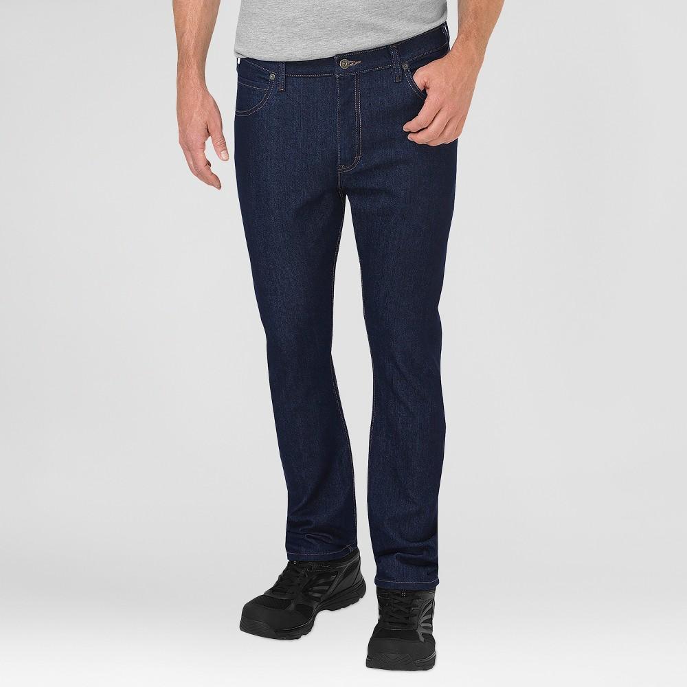 Dickies Men's Regular Classic Straight Fit Jeans - Indigo Blue 32x32