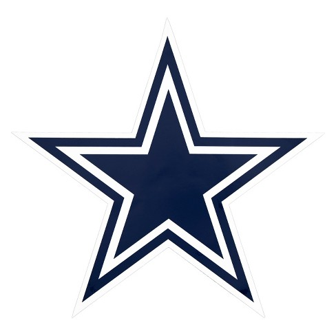 NFL Dallas Cowboys Large Outdoor Logo Decal - image 1 of 2