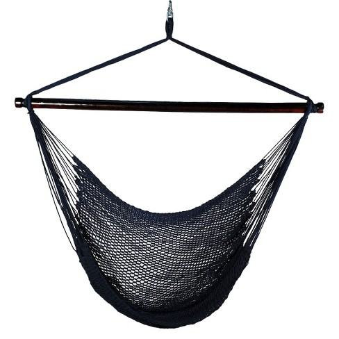 Outdoor Hanging Caribbean Rope Chair : Target