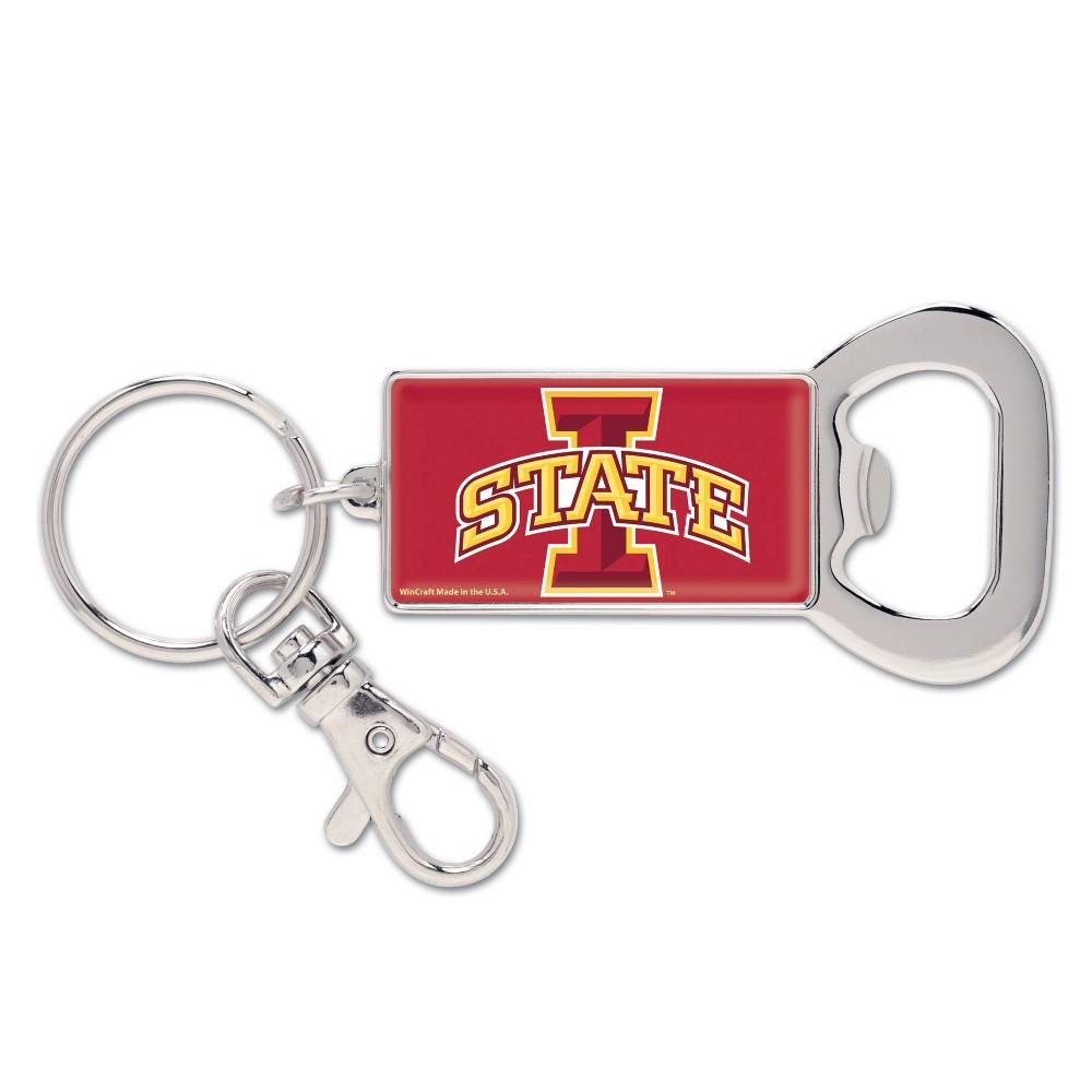 NCAA Iowa State Cyclones Lanyard Bottle Opener Keychain, Adult Unisex NCAA Iowa State Cyclones Lanyard Bottle Opener Keychain Gender: Unisex. Age Group: Adult. Pattern: Team logo.
