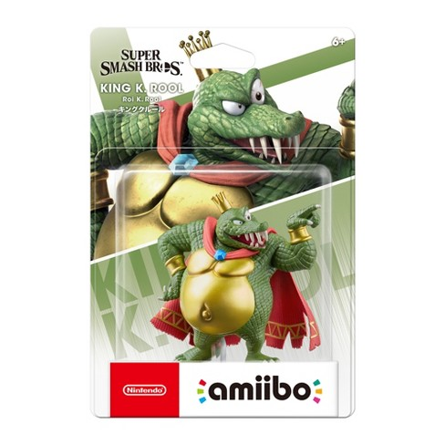 Nintendo Super Smash Bros. amiibo Figure - King K. Rool - image 1 of 2
