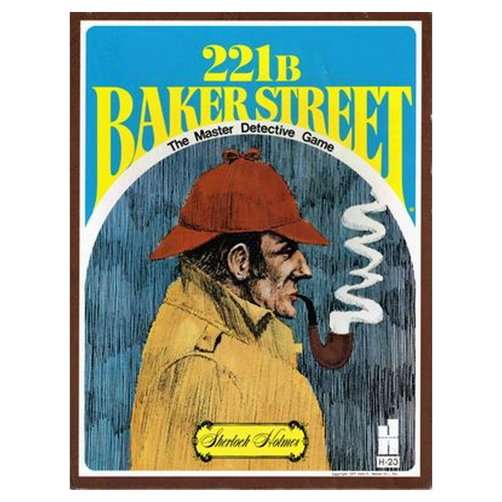 John Hansen Sherlock Holmes 221B Baker Street Board Game