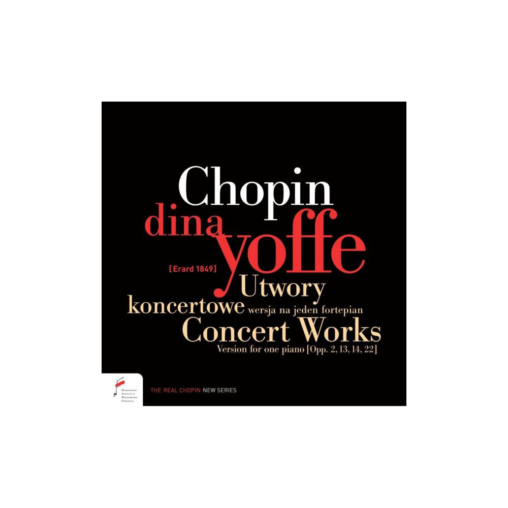 Dina Yoffe - Chopin:Concert Works (CD)