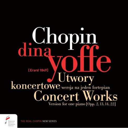 Dina Yoffe - Chopin:Concert Works (CD) - image 1 of 1