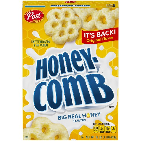 HoneyComb Original Breakfast Cereal - 16oz - POST - image 1 of 1