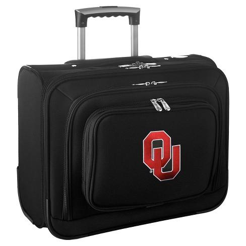 NCAA Oklahoma Sooners Mojo Wheeled Laptop Suitcase - image 1 of 4