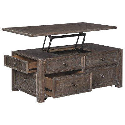 Wyndahl Coffee Table With Lift Top Rustic Brown - Signature Design By  Ashley : Target