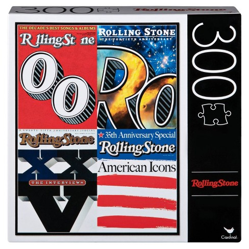 Cardinal Rolling Stone Special Edition Covers Puzzle 300pc - image 1 of 2