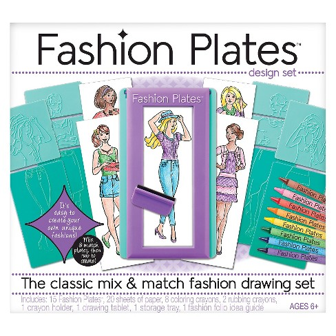 Fashion Plates Design Set Target