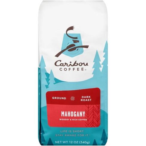 Caribou Coffee Mahogany Dark Roast Ground Coffee - 12oz - image 1 of 4