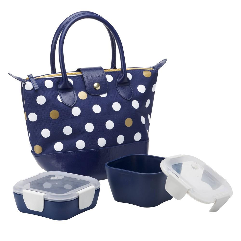 Image of Smash 3pc Lunch Bag Set - Navy